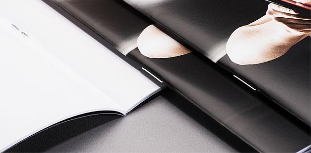 Brochures agrafées à partir de 1 ex. (impression numérique)