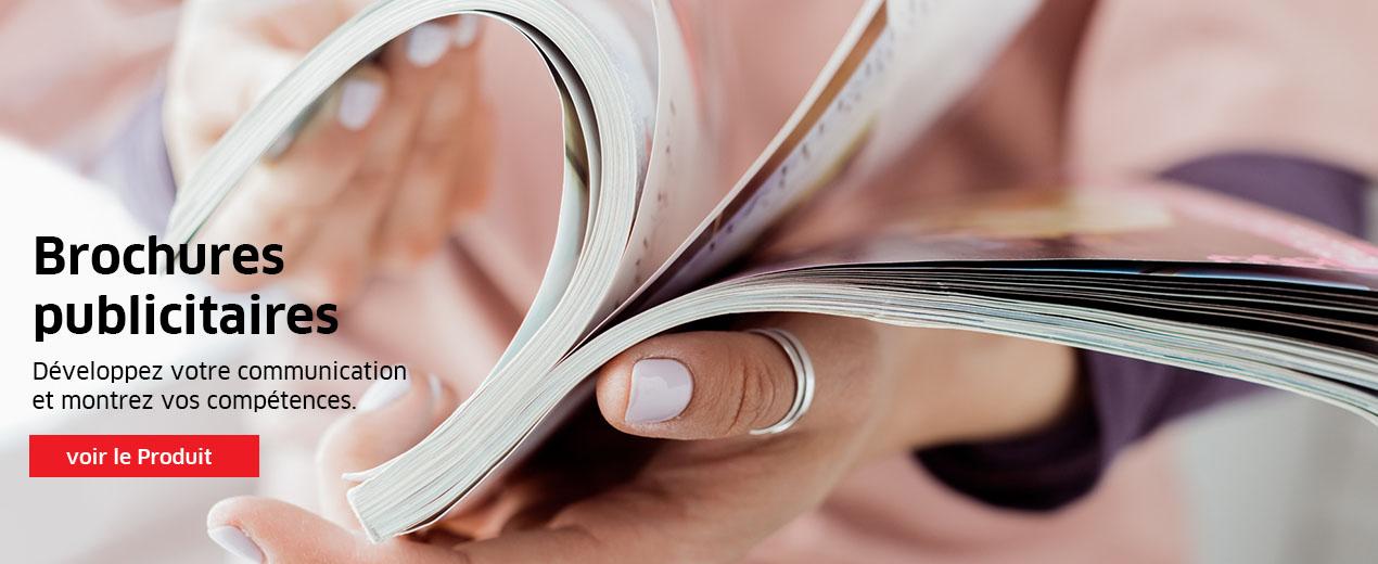 Brochures de haute qualité