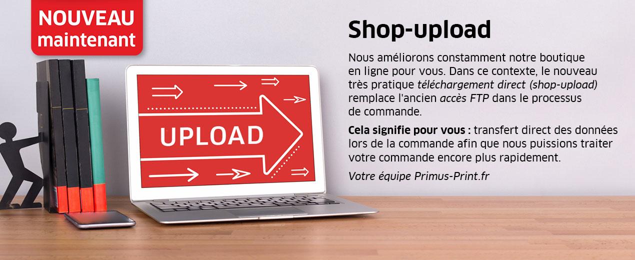 Nouveau : Shop-upload